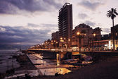 Corniche Beirut — Stock Photo