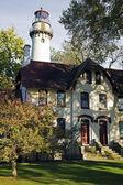 Evanston Lighthouse — Stock Photo