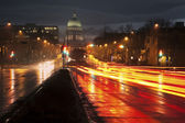 Traffic in Madison — Stock Photo