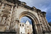 Cathedral in Antigua — Stock Photo