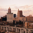 Cleveland - high angle view — Stock Photo