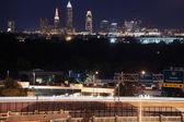 Cleveland skyline — Stock Photo