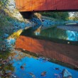 Everett Road Covered Bridge — Stock Photo