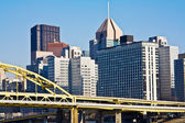 Pittsburgh downtown — Stock Photo