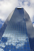 Grattacielo blu a lexington — Foto Stock