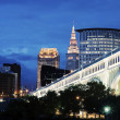 Stock Photo: Cleveland skyline