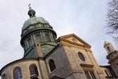 Kościół w centrum harrisburg — Zdjęcie stockowe