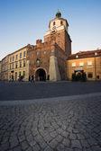 Krakowska Gate in Lublin — Zdjęcie stockowe