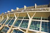 克利夫兰 · 布朗在克里夫兰市中心体育场 — 图库照片
