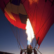 Stock Photo: Hot Air Balloon Fiestin Albuquerque