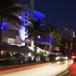 Evening by Ocean Drive — Stock Photo