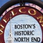 Boston's Historic North End — Stock Photo