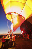 Hot Air Balloon Fiesta in Albuquerque, New Mexico — Stock Photo