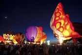 Hot Air Balloon Fiesta in Albuquerque — Stock Photo