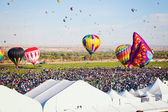 Hot Air Balloon Fiesta — Stock Photo