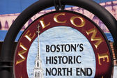 Boston's Historic North End — Stock Photo