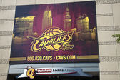 Cleveland Cavaliers banner — Stock Photo
