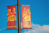 Cleveland Cavaliers banners — Stock Photo