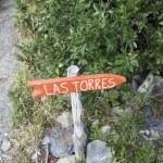 Постер, плакат: Las Torres sign