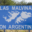 Stock Photo: Las Malvinas son Argentinas