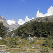 Fitz Roy Range in Argentina — Stock Photo