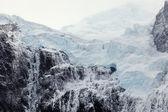Gletscher auf dem gipfel des berges — Stockfoto
