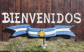 Bienvenidos a Argentina — Stock Photo