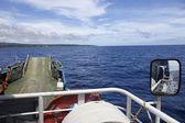 Ferry from Nuku'alofa, Tongatapu to Eua — Stockfoto