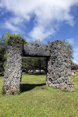 Ha'amonga 'a Maui arch — Stock Photo
