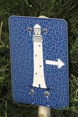 Signo de Faro — Foto de Stock