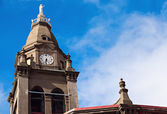 Church in the center of Punta Arenas — Stock Photo