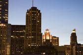 Night in Chicago — Stock Photo