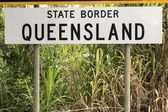State border - Queensland — Stockfoto