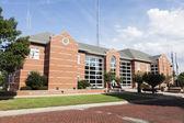 New courthouse in Hillsboro, Montgomery County — Stock Photo
