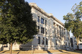 Old courthouse in Pekin — Stock Photo