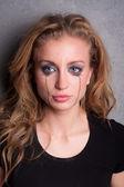 Crying girl — Stock Photo