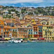 Villefranche-sur-Mer on the French Riviera - Stock Photo