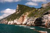 View in Portovenere, Italy — ストック写真