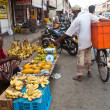 Seller on local market in Sri Lanka - April 2, 2014 — Stock Photo #44526429