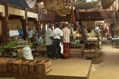 Local market in Sri Lanka - April 2, 2014 — Foto Stock