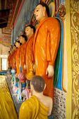 Statues in Buddha Temple — Stock Photo
