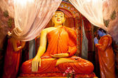Statue in Buddha Temple — Foto Stock