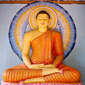 Statue in Buddha Temple — Photo