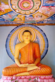 Statue in Buddha Temple — Stock Photo