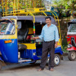 Tuk-tuk with driver — Stock Photo #47376179