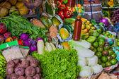 Various fruits at local market in Sri Lanka — Stock Photo