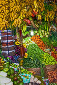Various fruits at local market in Sri Lanka — Stock Photo