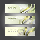 Header design — Stock Vector
