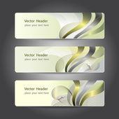 Header design — Stock Vector
