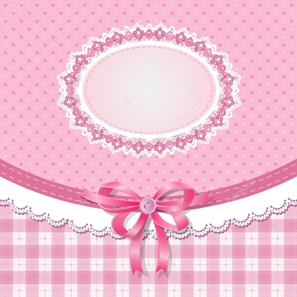 Download baby shower for girl stock illustration 21304861